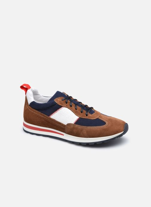 Sneakers Marvin&Co STROND Bruin detail