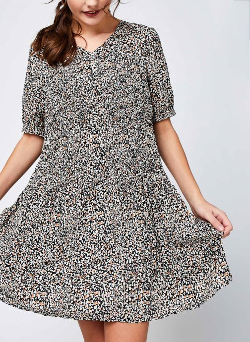 Vêtements Vero Moda Vmelin Dress Noir vue détail/paire