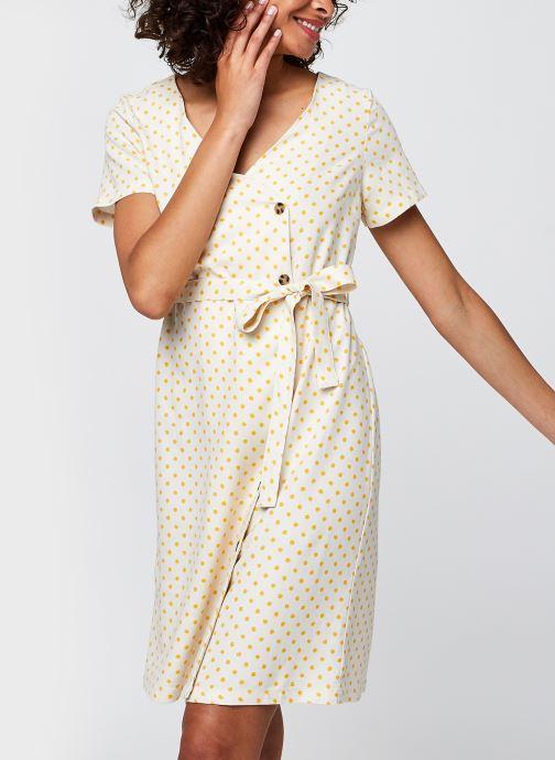 Vêtements Vero Moda Vmastimilo Dress Beige vue détail/paire