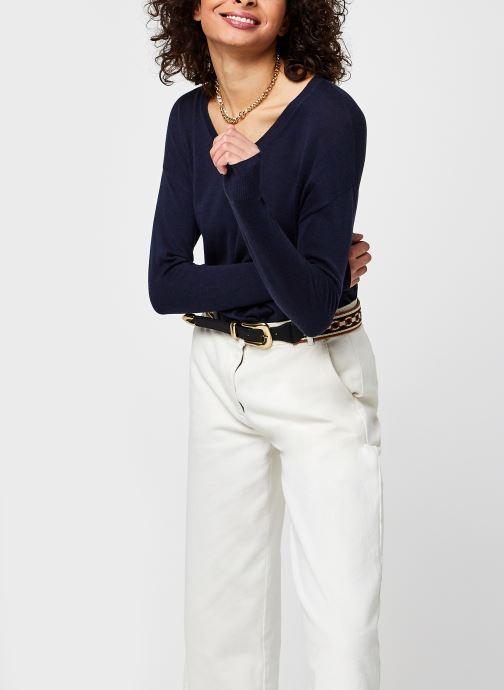 Vêtements Vero Moda Vmjennifer Bleu vue détail/paire