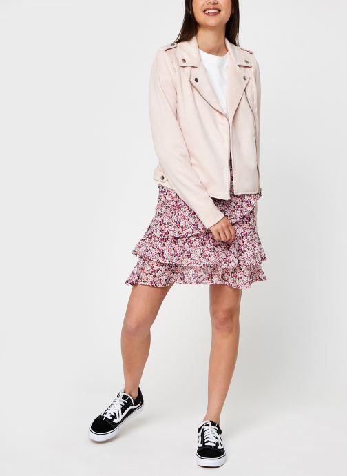 Vêtements Vero Moda Vmboostbiker Rose vue bas / vue portée sac