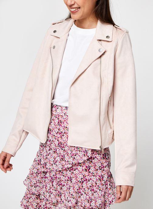 Vêtements Vero Moda Vmboostbiker Rose vue détail/paire