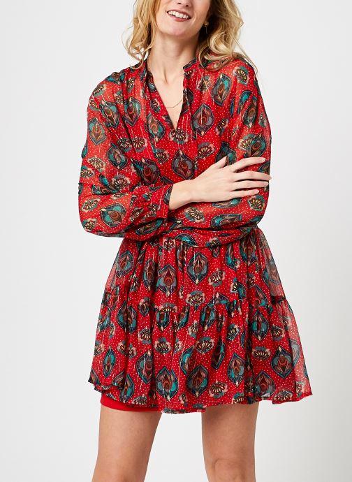Vêtements Vero Moda Vmmarbella Tunic Rouge vue détail/paire