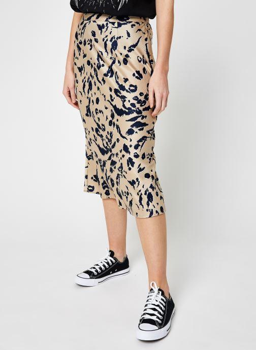 Vêtements Vero Moda Vmhailey Skirt Beige vue détail/paire