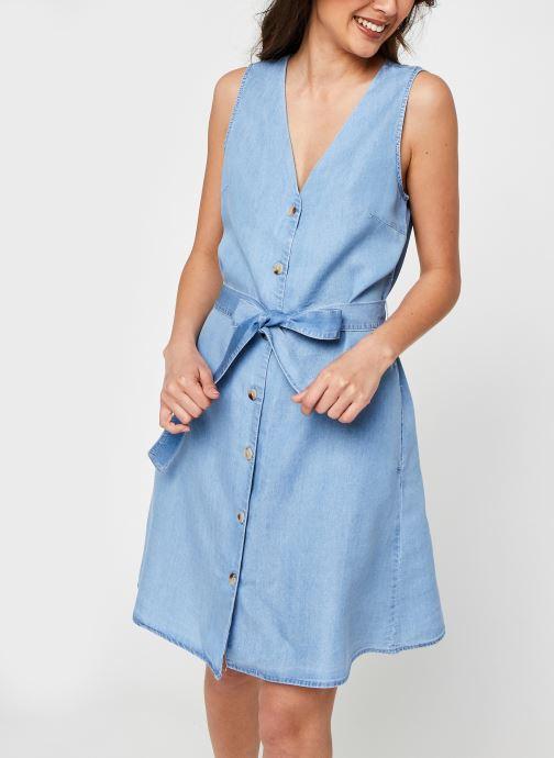 Vêtements Vero Moda Vmviviana Bleu vue détail/paire