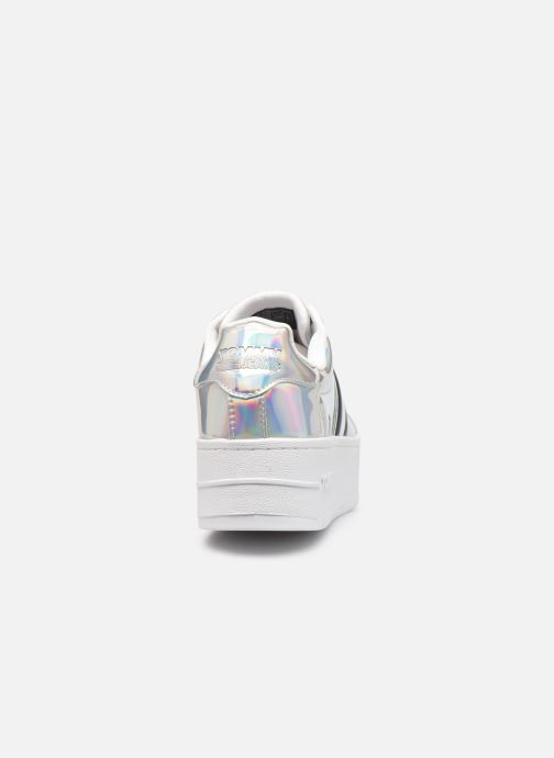 Sneaker Tommy Hilfiger FULLY IRIDESCENT IRONIC SNEAKER silber ansicht von rechts