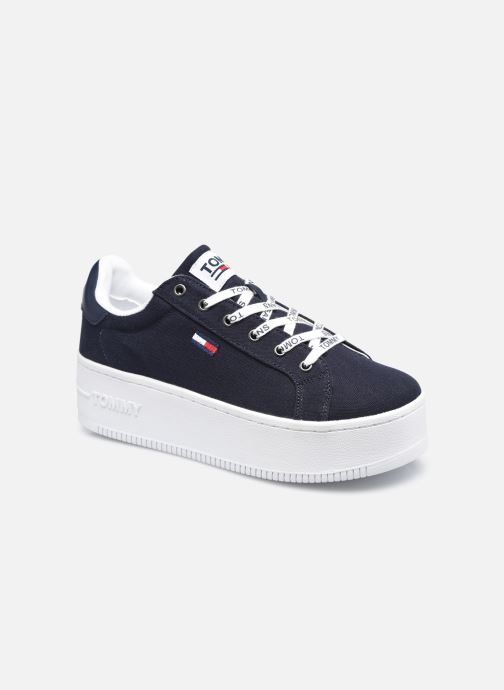 Sneakers Tommy Hilfiger ICONIC ESSENTIAL FLATFORM Blauw detail
