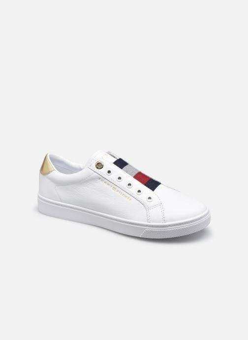 Sneaker Tommy Hilfiger TH ELASTIC SLIP ON SNEAKER weiß detaillierte ansicht/modell