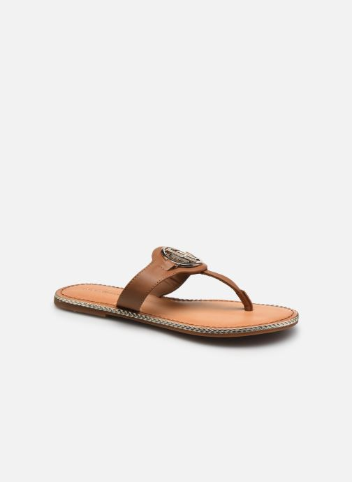 Wedges Dames ESSENTIAL LEATHER FLAT MULE
