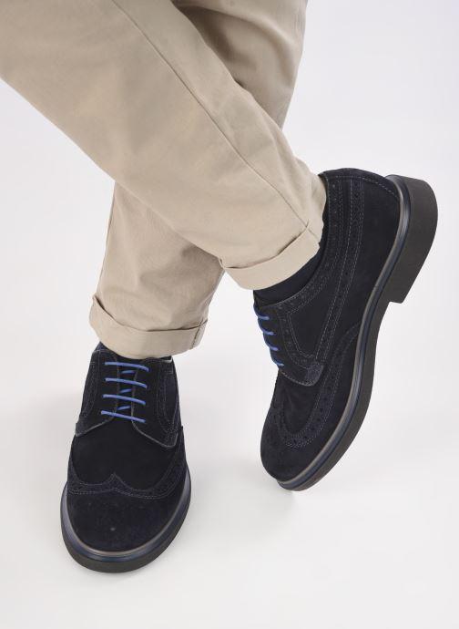 Scarpe con lacci Marvin&Co MARIUS Azzurro immagine dal basso