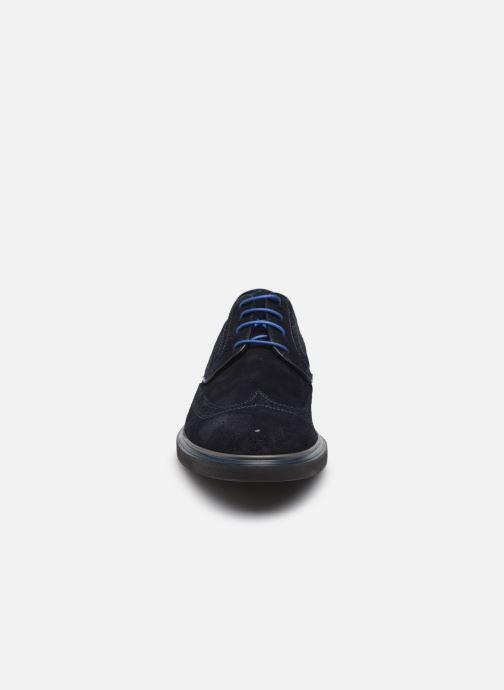 Scarpe con lacci Marvin&Co MARIUS Azzurro modello indossato