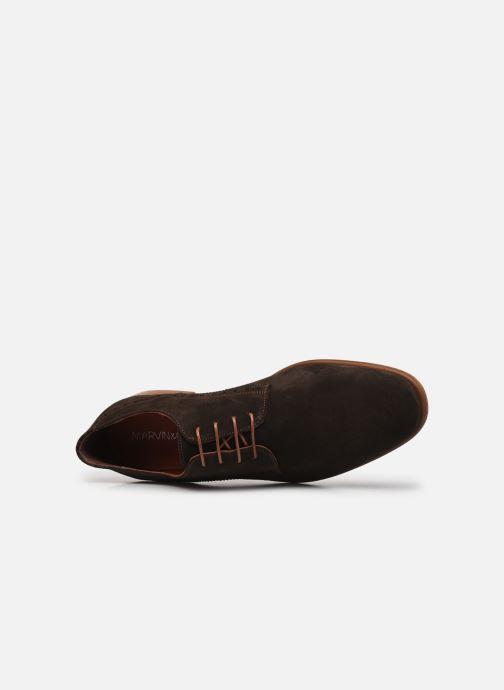 Scarpe con lacci Marvin&Co MADEN Marrone immagine sinistra