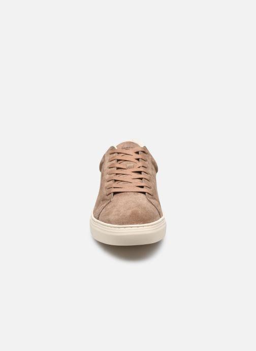 Sneakers Vagabond Shoemakers JOHN Marrone modello indossato
