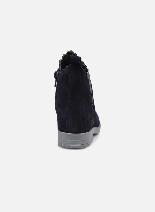 Boots en enkellaarsjes MTNG 48065 Blauw rechts