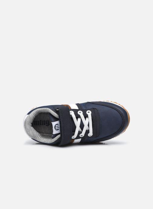 Sneakers MTNG 48135 Blauw links