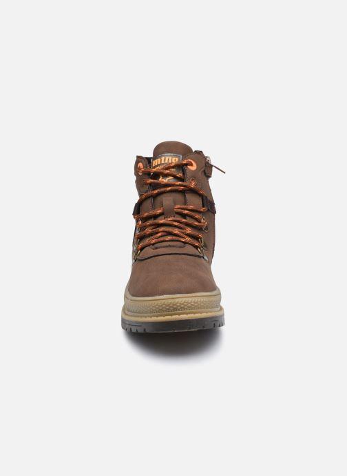 Boots en enkellaarsjes MTNG 48115 Bruin model