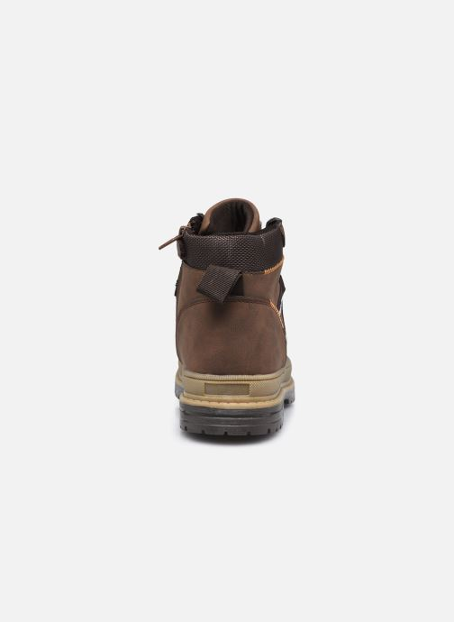 Boots en enkellaarsjes MTNG 48115 Bruin rechts