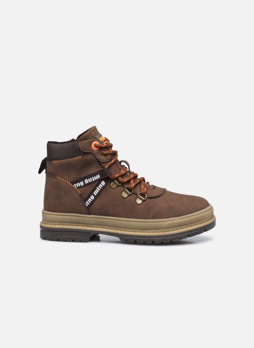 Boots en enkellaarsjes MTNG 48115 Bruin achterkant
