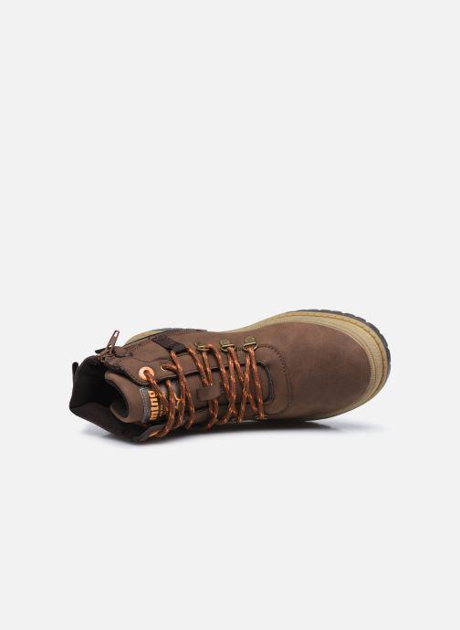 Boots en enkellaarsjes MTNG 48115 Bruin links