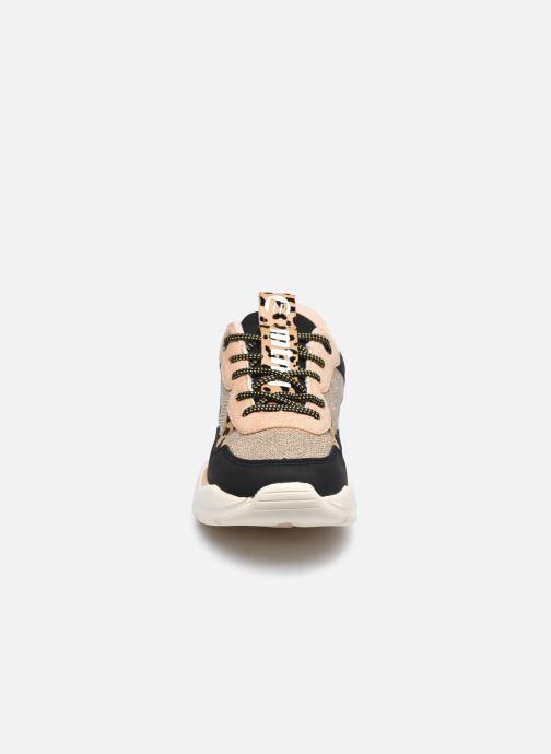 Baskets MTNG 48154 Rose vue portées chaussures