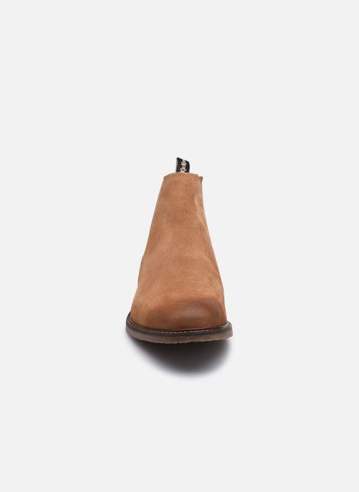 Stiefeletten & Boots Kickers Alphatri M braun schuhe getragen