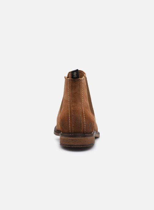 Stiefeletten & Boots Kickers Alphatri M braun ansicht von rechts