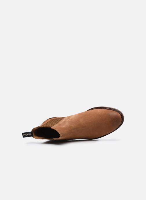 Stiefeletten & Boots Kickers Alphatri M braun ansicht von links