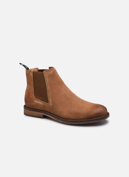 Bottines et boots Kickers Alphatri M Marron vue détail/paire