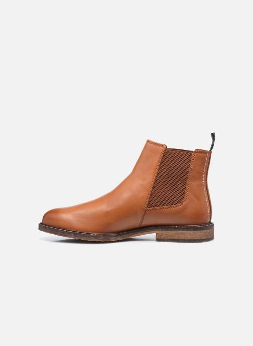 Stiefeletten & Boots Kickers Alphatri M braun ansicht von vorne