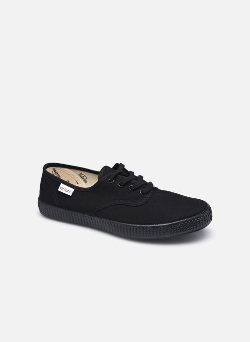 Sneakers Victoria Inglesa Lona Piso W Nero vedi dettaglio/paio