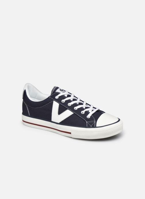 Sneaker Victoria Tribu Lona Contraste M blau detaillierte ansicht/modell