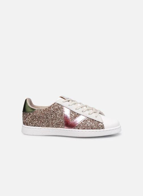 Sneaker Victoria Tenis Glitter Combinado beige ansicht von hinten