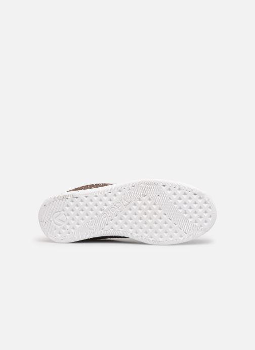 Sneaker Victoria Tenis Glitter Combinado beige ansicht von oben