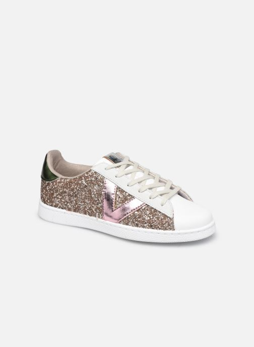 Sneaker Victoria Tenis Glitter Combinado beige detaillierte ansicht/modell