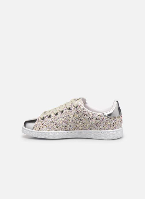 Sneaker Victoria Tenis Glitter Combinado silber ansicht von vorne