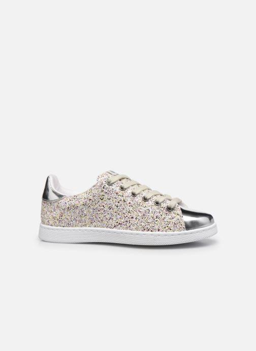 Sneaker Victoria Tenis Glitter Combinado silber ansicht von hinten
