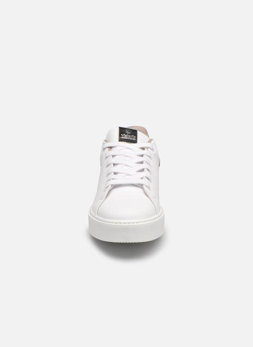Sneaker Victoria Utopía Vegana Glitter W grau schuhe getragen