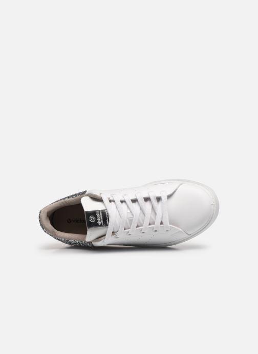Sneaker Victoria Utopía Vegana Glitter W grau ansicht von links