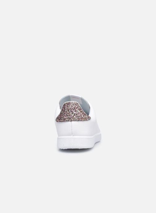 Sneakers Victoria Tenis Piel W Rosa immagine destra