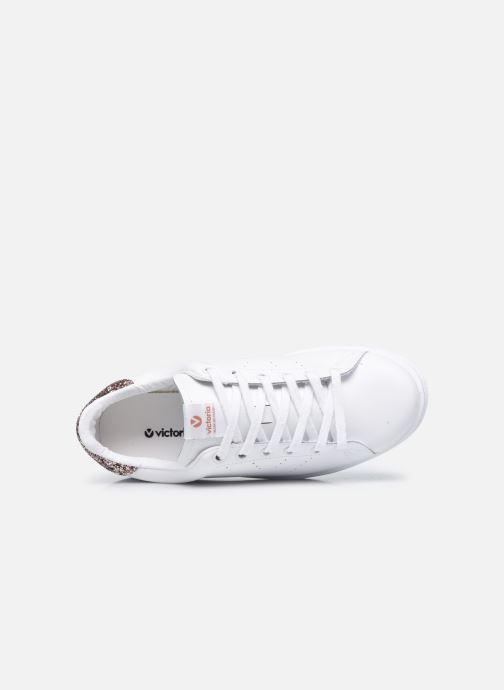 Sneakers Victoria Tenis Piel W Rosa immagine sinistra