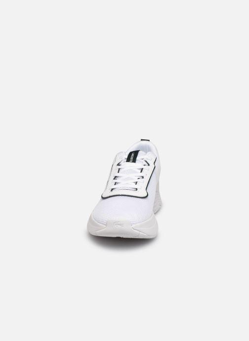 Sneakers Lacoste COURT-DRIVE 0721 1 SUJ Bianco modello indossato