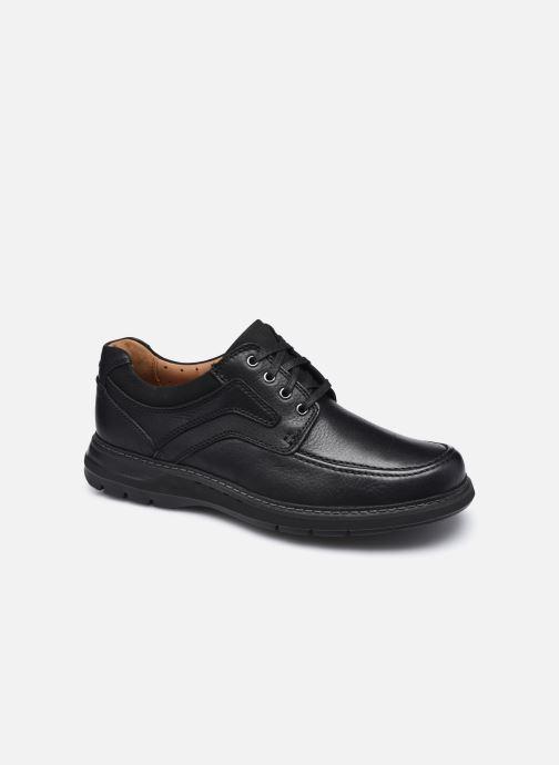 Zapatos con cordones Clarks Unstructured Un Ramble Lace Negro vista de detalle / par
