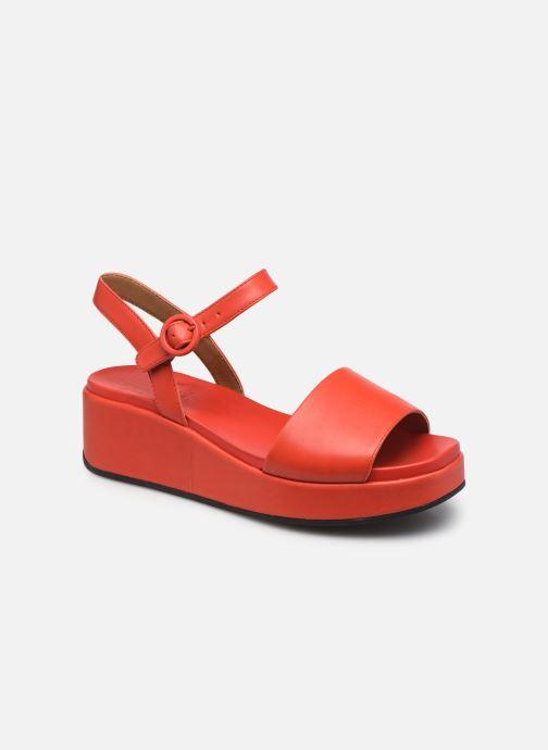 Sandalen Camper Misia W rot detaillierte ansicht/modell