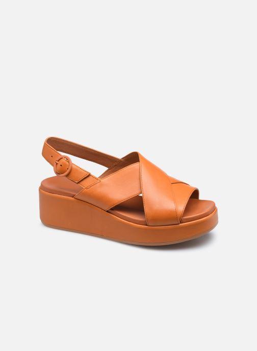 Sandales et nu-pieds Camper MISIA II W Orange vue détail/paire