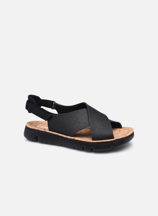 Sandalen Camper Oruga Sandal  Black W schwarz detaillierte ansicht/modell