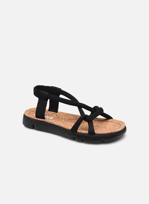 Sandalen Camper Oruga Sandal Tressé W schwarz detaillierte ansicht/modell