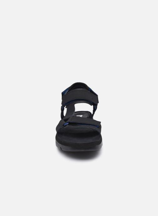 Sandalen Camper Oruga Sandal schwarz schuhe getragen