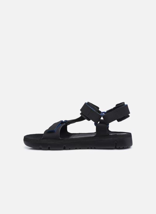 Sandalen Camper Oruga Sandal schwarz ansicht von vorne