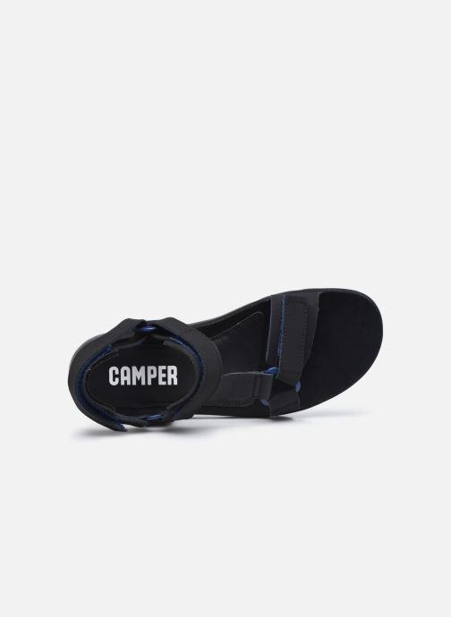 Sandalen Camper Oruga Sandal schwarz ansicht von links