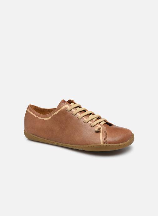 Sneakers Camper TWS Leather Bruin detail